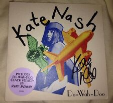 KATE NASH SIGNED DO WAH DOO CD SINGLE POP INDIE ROCK MUSIC 100% AUTHENTIC