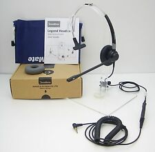 Dasan FM07 Monaural Headset for Alcatel 4028 4029 4038 4039 4068 IP Touch Phones