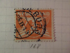 PAYS-BAS - 1926-28, timbre CLASSIQUE 168, type n, oblitéré, VF used STAMP
