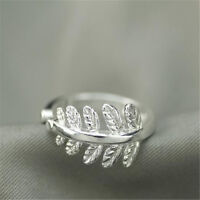 925 Solid Sterling Silver Plated Women/Men NEW Fashion Ring Gift SIZE OPEN HJ200