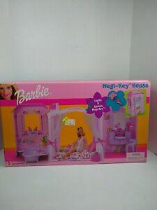 Barbie Magi-Key Fold Up Doll House w/ Sounds & Lights 29623 Vintage 2000 NRFB