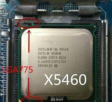 Intel socket 775 Xeon X5460 x5460  Quad-Core 3.16GHz 12MB 1333MHz works on LGA