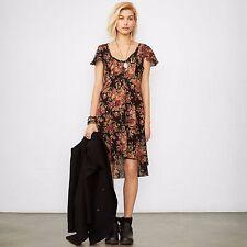 71fd326384 Denim   supply Ralph Lauren New Women s Black Floral Peasant Boho Dress