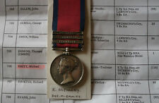 More details for military general service 3 bars michael emmitt royal artillery napoleon wars