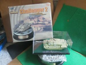 DRAGON ARMOUR CHALLENGER 2 TANK DIORAMA IRAQ 2003 (1:72 SCALE) LOT P55 BOXED