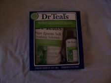 NEW IN BOX DR. TEAL'S RELAX EPSOM SALT & FOAMING BATH SET