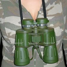 60x50 Powerful Wide Angle Green Camo Binoculars Day&Night Optics Military Army