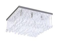 Lampadari da soffitto per bagno in argento da 4-6 luci