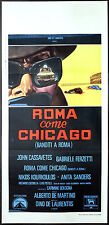 cartel DE la película ROMANO COME CHICAGO BANDIDOS cassavetes A.DE MARTINO