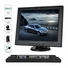 """12"""" pouces HDMI/BNC/AV/VGA/B LCD CCTV Moniteur Ordinateur écran d'affichage avec haut-parleur"""