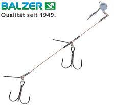 Balzer Shirasu Gummifisch-system mit Spiral Jighead 9cm 10g