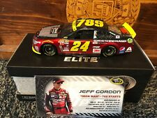 2015 Jeff Gordon 789 Starts Iron Man DTEH Action 1:24 Diecast Car ELITE