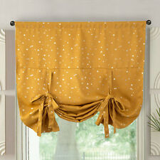Blockout Curtains Kids Star Rod Pocket  Roman Blockout Curtain Room Darkening