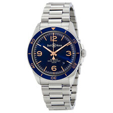 Bell and Ross Vintage Blue Dial Automatic Mens Watch BRV292-BU-G-ST-SST