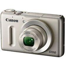 Near Mint! Canon PowerShot S100 12.1 MP CMOS Silver - 1 year warranty