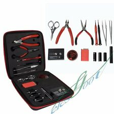 Newest Coil Master DIY V2 KIT TOOL SET Coil Jig ohm Meter Ceramic Tweezer