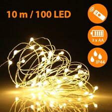 Fairy String Lights with Remote Control 100 LEDs 33ft 10M Waterproof Warm White