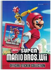 1 x Super Mario Bros Album and 4 Packs of Stickers Enter Play 2011 Spanish