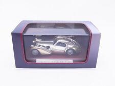91811 | Atlas 7687101 Bugatti 57SC Coupé Atlantic Chrome Modellauto 1:43 in OVP