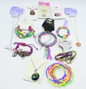New Girls Children 12 Piece Department Store Jewelry Lot #GL4