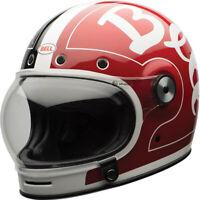 Bell Bullitt SE Street Cruiser Motorcycle Helmet Skratch Black/Red XSmall