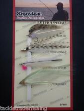 Snowbee Prestige Selección de Moscas - 4 X peces cebo especiales-Uk Libre P & P