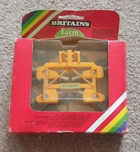 Britains Farm Models 9553 Disc Harrow in Original Box New