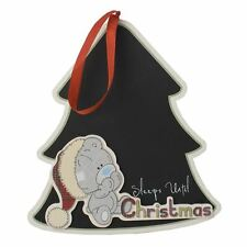Me to You - Sleeps Until Christmas Plaque - Tatty Teddy Bear Xmas