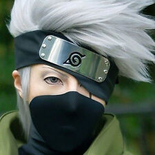 "Hatake Kakashi (Anime ""Naruto"") Cosplay Wig - Male Short Grey Silver"