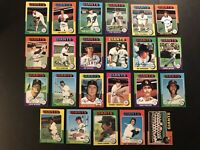 1975 Topps SAN FRANCISCO GIANTS Complete TEAM Set BOBBY MURCER Speier KINGMAN