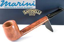 Pipa Pipe pfeife Savinelli Spring mod. 802 radica lucida dritta Canadese italy