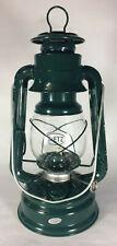 """New Dietz #78 Mars Oil Lantern, Green, Green Trim, 11"""" Ht., Burns 15 Hrs #LA886"""