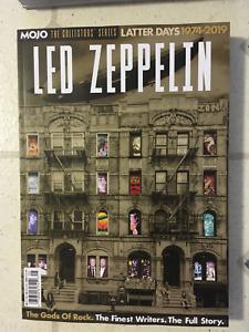 MOJO COLLECTOR'S SERIES Magazine LED ZEPPELIN Latter Days 1974-2019 GOD OF ROCK