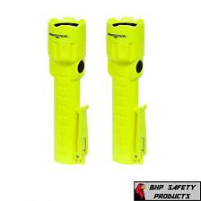 BAYCO NIGHTSTICK WATERPROOF SAFETY FLASHLIGHT INTRINSICALLY SAFE XPP-5422G 2 EA