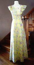 "Vintage Retro 60s 70s Hippie Boho Long Floral Festival Prom Summer Dress B-35"""