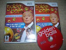 Golden Balls-Rare Nintendo Wii Spiel