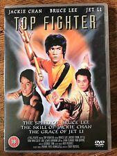 BRUCE LEE JACKIE CHAN Top Fighter HONG KONG Película Documental GB DVD