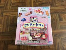 Rare! Re-ment Disney Miniature Minnie & Daisy Pretty Café Full Set of 8 Boxed