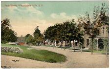 Wappingers Falls NY - PARK STREET - Postcard