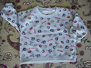 *NWOT*Toddler Boys All Star Sports Sweatshirt Top 12 mo