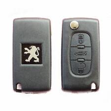 Peugeot Expert 3 Button Remote Car Key Fob Case VA2 Flip 207 307 308 408 107