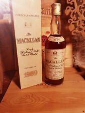 MACALLAN 1959 PROOF 80 Rinaldi Import RARE Whisky box