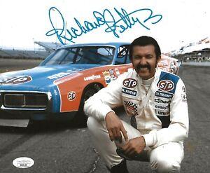 Richard Petty Daytona 500 signed Nascar 8x10 photo autographed The King 8 JSA