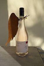 Engelsflügel Flaschenbanderole Flaschendeko Edelrost Geschenk Engel