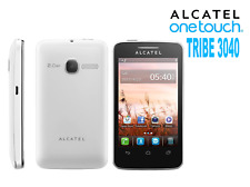 Alcatel Tribe 3040 Téléphone portable débloqué Bluetooth WiFi Blanc