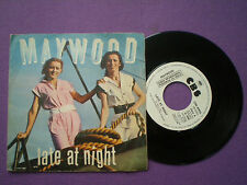 MAYWOOD  Late At Night SPAIN WL PROM0 45 1980 Disco
