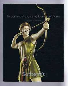Art: Important Bronze & Ivory Sculptures: Sotheby's April 2008, New York