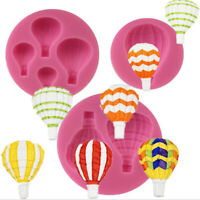Air Balloon Collection Fondant Silicone Mould Chocolate Fudge Cake Mould YK