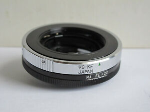 YS-KF Lens Adapter -All Metal, NEW - 4 Using YS Mount Lens on Konica F  - RARE