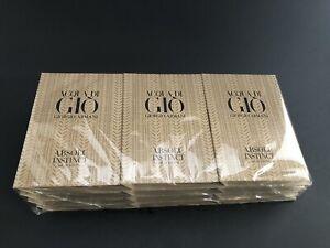 Acqua Do Gio Absolu Instinct Eau De Parfum Spray 12 Pk 0.04 oz New In Packaging